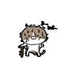 遅刻常習犯の猫平さん【猫田さん番外編1】(個別スタンプ:08)