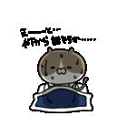 遅刻常習犯の猫平さん【猫田さん番外編1】(個別スタンプ:10)