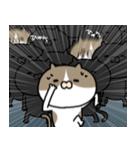 遅刻常習犯の猫平さん【猫田さん番外編1】(個別スタンプ:36)