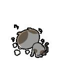 遅刻常習犯の猫平さん【猫田さん番外編1】(個別スタンプ:37)