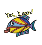 カラフルお魚と仲間達