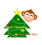 正月&クリスマス 年末年始イベント(行事)(個別スタンプ:36)