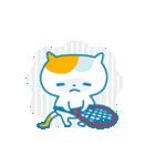 ねこっとテニス(個別スタンプ:04)