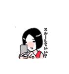 もぐキャバ嬢(個別スタンプ:01)