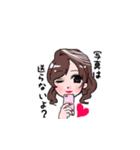 もぐキャバ嬢(個別スタンプ:03)