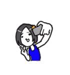 もぐキャバ嬢(個別スタンプ:05)