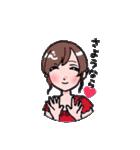 もぐキャバ嬢(個別スタンプ:11)
