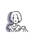 もぐキャバ嬢(個別スタンプ:31)