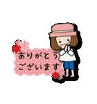 帽子がトレードマークの女の子(個別スタンプ:07)