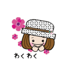 帽子がトレードマークの女の子(個別スタンプ:12)