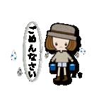 帽子がトレードマークの女の子(個別スタンプ:33)