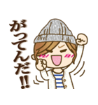 【死語♥】ゆるカジ女子(個別スタンプ:07)