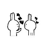 ★謎過ぎるうさぎ★(関西弁)(個別スタンプ:11)