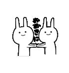 ★謎過ぎるうさぎ★(関西弁)(個別スタンプ:15)