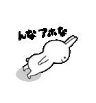★謎過ぎるうさぎ★(関西弁)(個別スタンプ:27)
