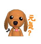 3D ダックスフレンズ(3)メリクリ、年賀入り(個別スタンプ:22)