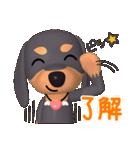 3D ダックスフレンズ(3)メリクリ、年賀入り(個別スタンプ:31)