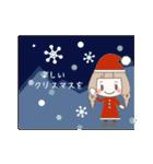 ゆるふわガーリースタンプ【冬】(個別スタンプ:04)