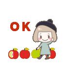 ゆるふわガーリースタンプ【冬】(個別スタンプ:22)