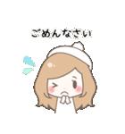 ゆるふわガーリースタンプ【冬】(個別スタンプ:23)