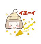 ゆるふわガーリースタンプ【冬】(個別スタンプ:27)