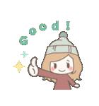 ゆるふわガーリースタンプ【冬】(個別スタンプ:28)