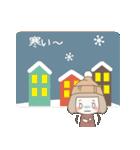 ゆるふわガーリースタンプ【冬】(個別スタンプ:29)
