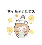 ゆるふわガーリースタンプ【冬】(個別スタンプ:30)