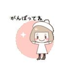 ゆるふわガーリースタンプ【冬】(個別スタンプ:35)