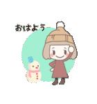 ゆるふわガーリースタンプ【冬】(個別スタンプ:37)