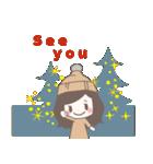 ゆるふわガーリースタンプ【冬】(個別スタンプ:40)