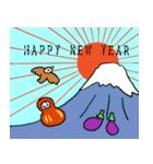 毎年使える!福だるま年賀状(個別スタンプ:19)