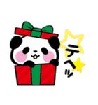 パンダぁー6【お正月&クリスマス編】(個別スタンプ:11)