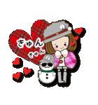 帽子がトレードマークの女の子(冬Ver.)(個別スタンプ:7)