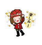 帽子がトレードマークの女の子(冬Ver.)(個別スタンプ:11)