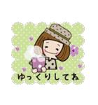 帽子がトレードマークの女の子(冬Ver.)(個別スタンプ:12)