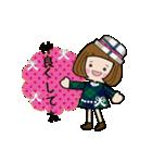 帽子がトレードマークの女の子(冬Ver.)(個別スタンプ:19)
