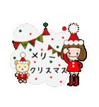 帽子がトレードマークの女の子(冬Ver.)(個別スタンプ:28)