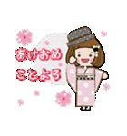 帽子がトレードマークの女の子(冬Ver.)(個別スタンプ:36)