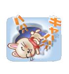 飛び出すウサギ【冬】(個別スタンプ:27)