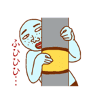 変人祭り 青男(個別スタンプ:12)