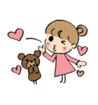 かわいい韓国語と日本語のバイリンガル(個別スタンプ:15)