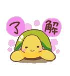愛されカメさん3(あったか冬とお正月!)(個別スタンプ:23)