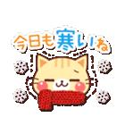 にゃーにゃー団の冬(個別スタンプ:02)