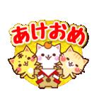 にゃーにゃー団の冬(個別スタンプ:27)