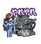 車(トラック日常1)クルマバイクシリーズ(個別スタンプ:20)