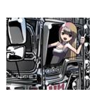 車(トラック日常1)クルマバイクシリーズ(個別スタンプ:37)