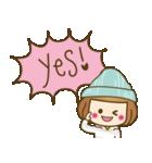 ニット帽のかわいいベニちゃん3(個別スタンプ:2)