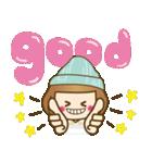 ニット帽のかわいいベニちゃん3(個別スタンプ:4)