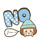 ニット帽のかわいいベニちゃん3(個別スタンプ:6)